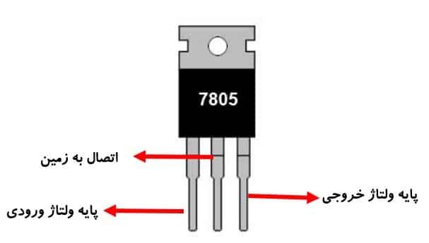 رگولاتور ولتاژ خروجی 5